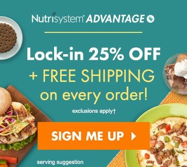 Sign Up and Save with Nutrisystem Advantage