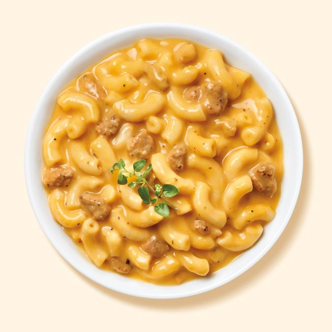 Thumbnail of Mac and Cheese with Turkey Sausage