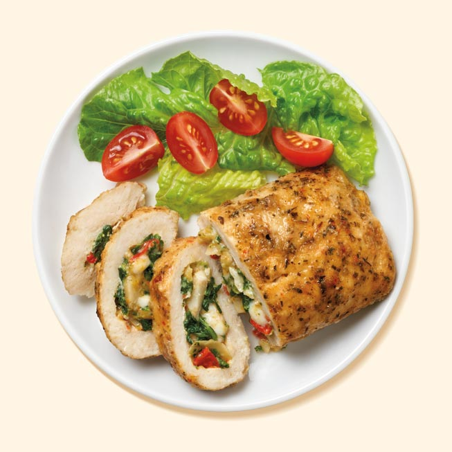 Thumbnail of Artichoke and Spinach Stuffed Chicken Breast