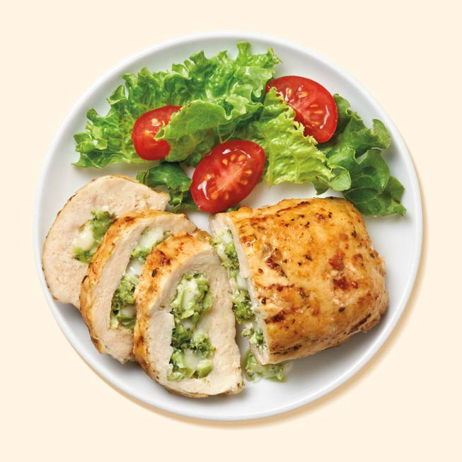 Thumbnail of Broccoli & Cheese Stuffed Chicken Breast