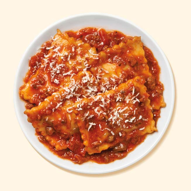 Thumbnail of Ravioli with Meat Sauce