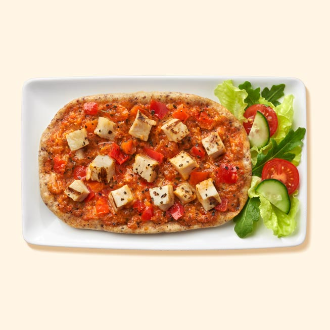Thumbnail of Roasted Red Pepper Pesto & Chicken Flatbread