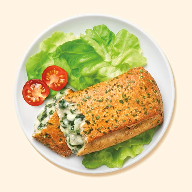 Thumbnail of Spinach and Cheese Pretzel Melt