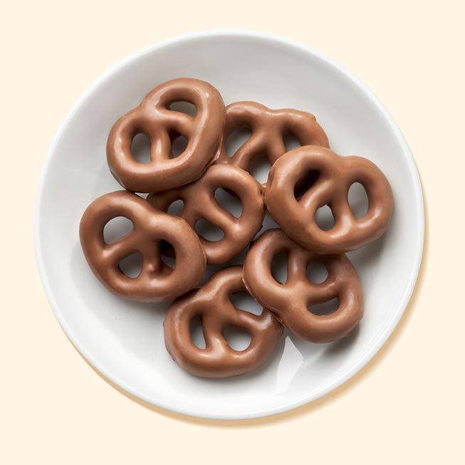Thumbnail of Chocolate Flavored Pretzels
