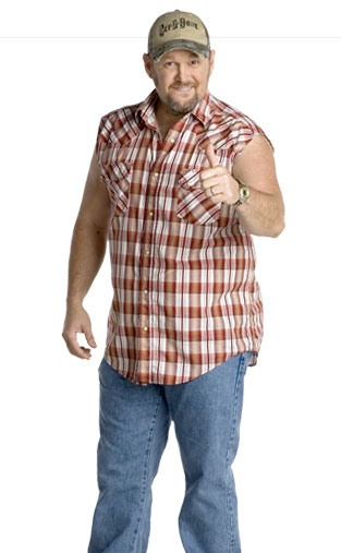 Larry the Cable Guy's After Photo